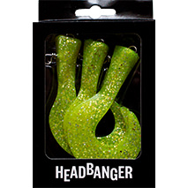 Headbanger Tail Replacement Chartreuse